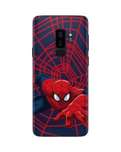 Spider-Man Crawls Galaxy S9 Plus Skin