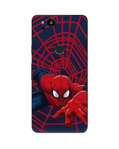 Spider-Man Crawls Google Pixel 2 Skin