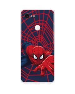 Spider-Man Crawls Google Pixel 3 Skin