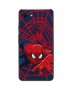 Spider-Man Crawls Google Pixel 3 XL Skin