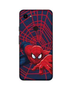 Spider-Man Crawls Google Pixel 3a XL Skin