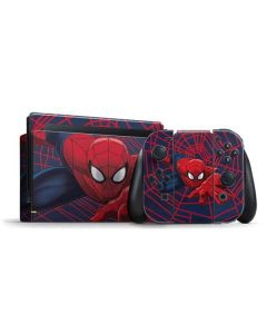 Spider-Man Crawls Nintendo Switch Bundle Skin