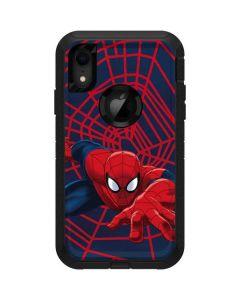 Spider-Man Crawls Otterbox Defender iPhone Skin