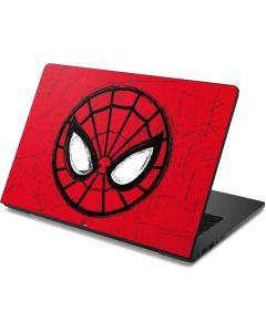 Spider-Man Face Dell Chromebook Skin
