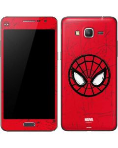 Spider-Man Face Galaxy Grand Prime Skin