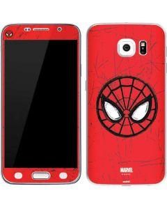 Spider-Man Face Galaxy S6 Skin