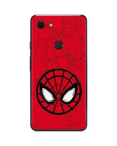 Spider-Man Face Google Pixel 3 XL Skin