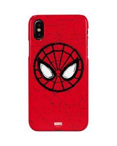 Spider-Man Face iPhone XS Max Lite Case