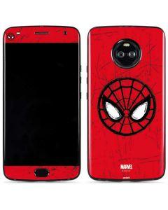 Spider-Man Face Moto X4 Skin