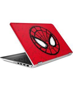 Spider-Man Face HP Pavilion Skin