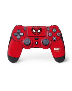 Spider-Man Face PS4 Controller Skin