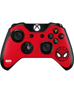 Spider-Man Face Xbox One Controller Skin