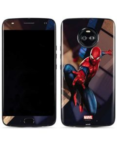 Spider-Man in City Moto X4 Skin