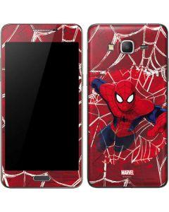 Spider-Man Lunges Galaxy Grand Prime Skin