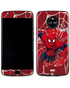 Spider-Man Lunges Moto X4 Skin