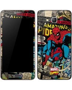 Spider-Man Vintage Comic Galaxy Grand Prime Skin