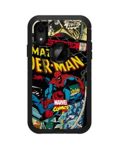 Spider-Man Vintage Comic Otterbox Defender iPhone Skin