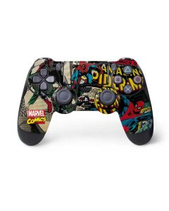 Spider-Man Vintage Comic PS4 Controller Skin