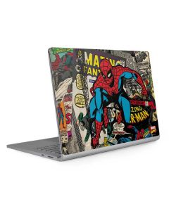 Spider-Man Vintage Comic Surface Book 2 13.5in Skin