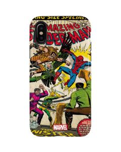 Spider-Man vs Sinister Six iPhone X Pro Case