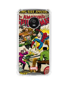 Spider-Man vs Sinister Six Moto G5 Plus Clear Case