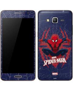 Spider-Man Web Galaxy Grand Prime Skin