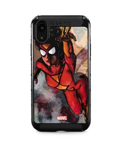 Spider-Woman In Action iPhone XR Cargo Case