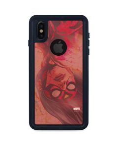 Spider-Woman Radiance iPhone XS Waterproof Case