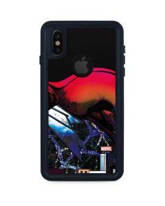Spider-Woman Skyline iPhone XS Waterproof Case