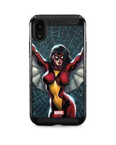 Spider-Woman Web iPhone XR Cargo Case