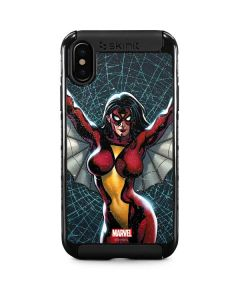 Spider-Woman Web iPhone XS Cargo Case