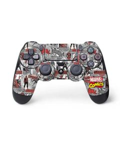 Spidey Comic Pattern PS4 Controller Skin