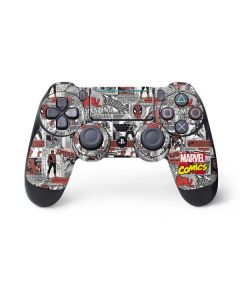 Spidey Comic Pattern PS4 Pro/Slim Controller Skin