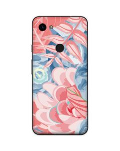 Spring Floral Google Pixel 3a Skin
