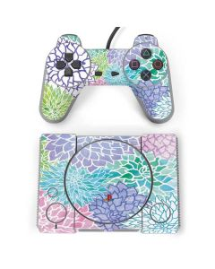 Spring Flowers PlayStation Classic Bundle Skin