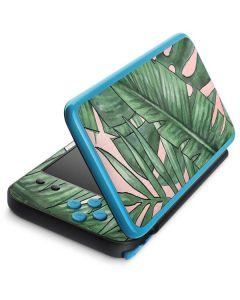 Spring Palm Leaves 2DS XL (2017) Skin