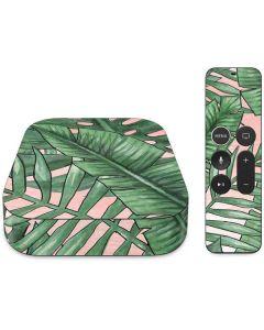 Spring Palm Leaves Apple TV Skin