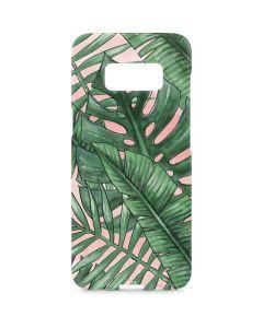 Spring Palm Leaves Galaxy S8 Plus Lite Case
