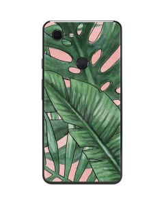 Spring Palm Leaves Google Pixel 3 XL Skin