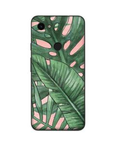 Spring Palm Leaves Google Pixel 3a Skin