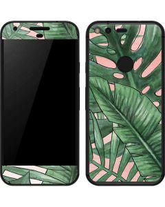 Spring Palm Leaves Google Pixel Skin