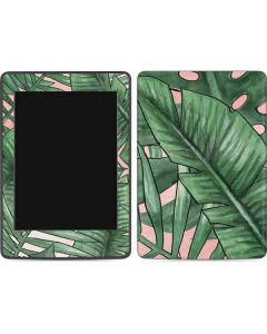Spring Palm Leaves Amazon Kindle Skin