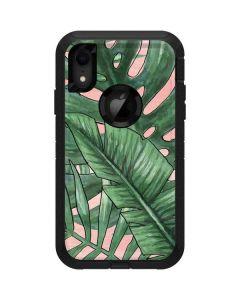 Spring Palm Leaves Otterbox Defender iPhone Skin