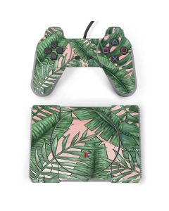 Spring Palm Leaves PlayStation Classic Bundle Skin