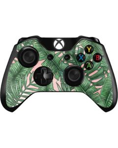Spring Palm Leaves Xbox One Controller Skin