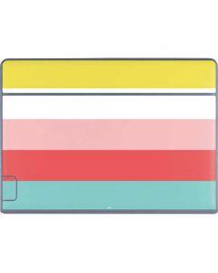 Spring Stripes Galaxy Book Keyboard Folio 12in Skin