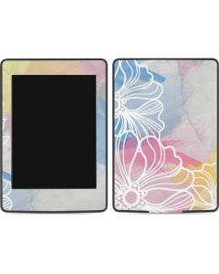 Spring Watercolors Amazon Kindle Skin