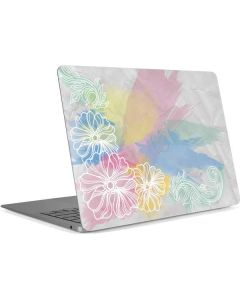 Spring Watercolors Apple MacBook Air Skin