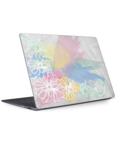 Spring Watercolors Surface Laptop 2 Skin