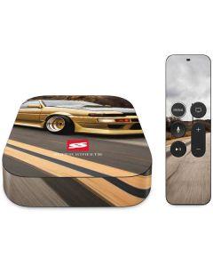 SS Gold Racer Apple TV Skin